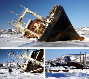 abandoned russian ships